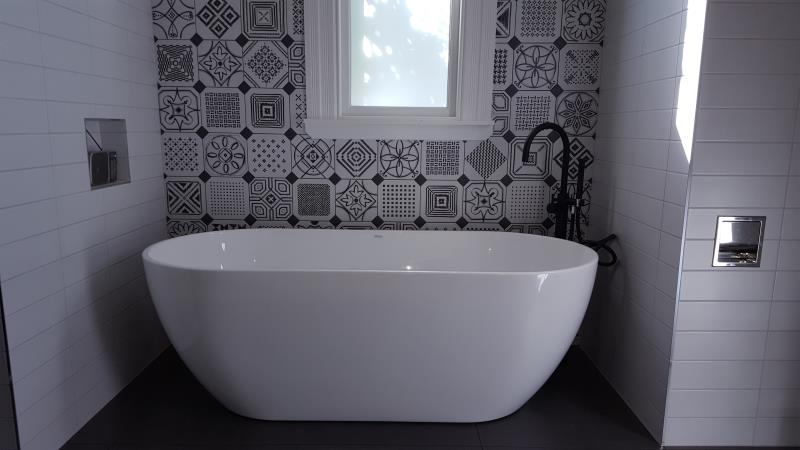 Amazing Tiled Feature Wall