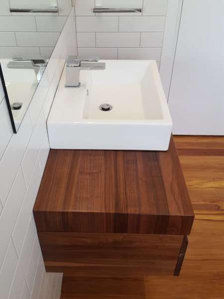 Hand Crafted Hardwood Vanity
